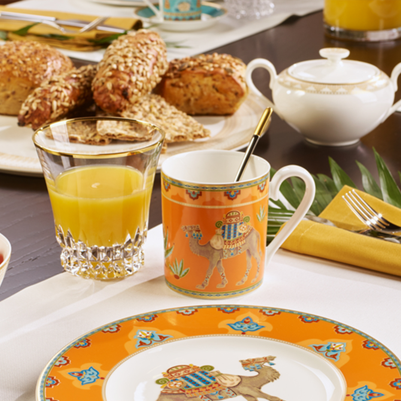 德国唯宝奢华中东骆驼马克杯