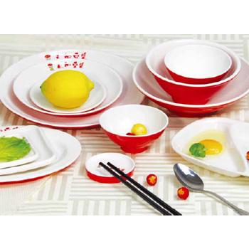 快餐 火锅 双色 餐具02