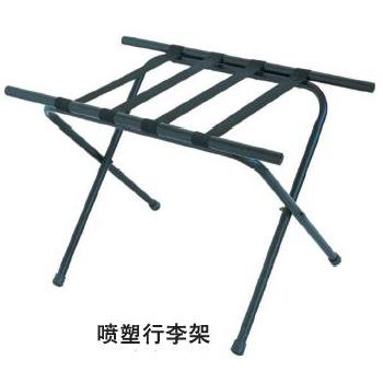 瑞瑜寶 木質 噴塑 不銹鋼 行李架 衣帽架3